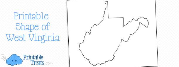 Printable Shape of Montana \u2014 Printable Treats