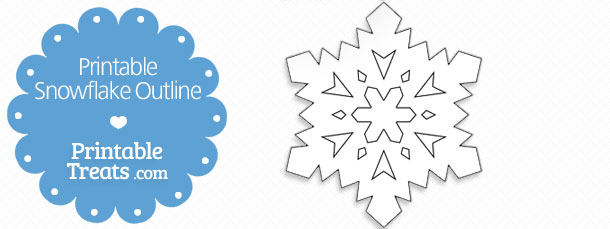 Snowflake Outline Printable snowflake templates u2013 49+ free