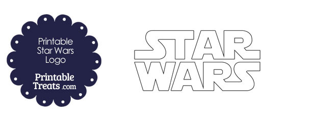 Printable Star Wars Logo Template \u2014 Printable Treats
