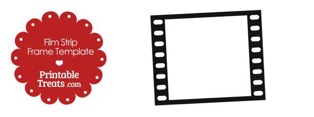 Printable Vertical Filmstrip Frame Template \u2014 Printable Treats