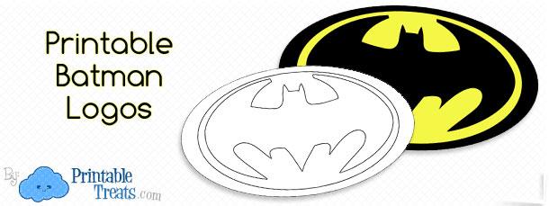 Large Printable Batman Logo \u2014 Printable Treats