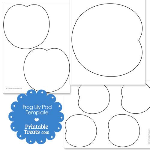 Printable Frog Lily Pad Template \u2014 Printable Treats