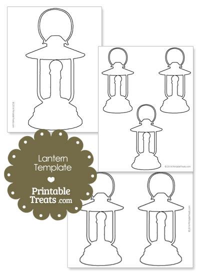 Printable Lantern Shape Template \u2014 Printable Treats