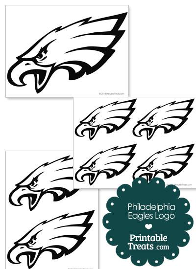 Printable Philadelphia Eagles Logo Template from PrintableTreats - loose leaf paper template