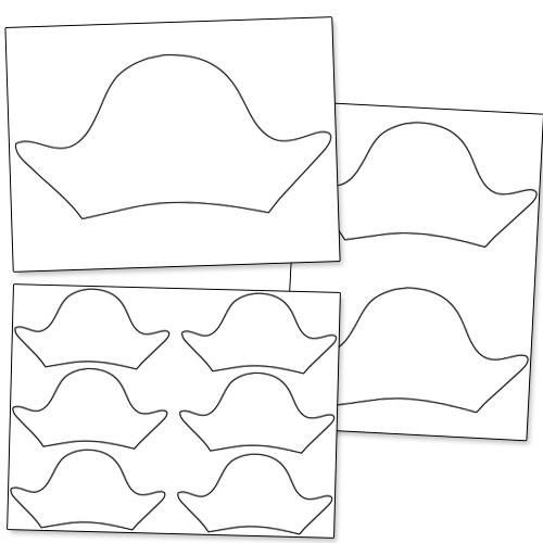 Printable Pirate Hat Pattern \u2014 Printable Treats