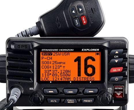 Standard Horizon GX1700, finally a fixed VHF w GPS built in - Panbo