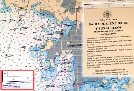 Cartography lessons learned searching for the best charts of Cuba