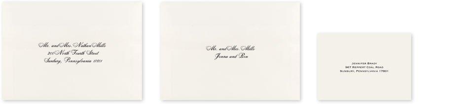 Wedding Envelope Addressing Ann\u0027s Bridal Bargains