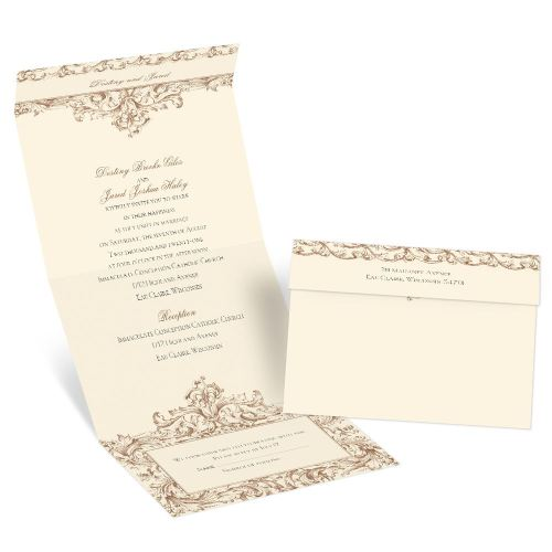 Medium Crop Of Seal And Send Wedding Invitations