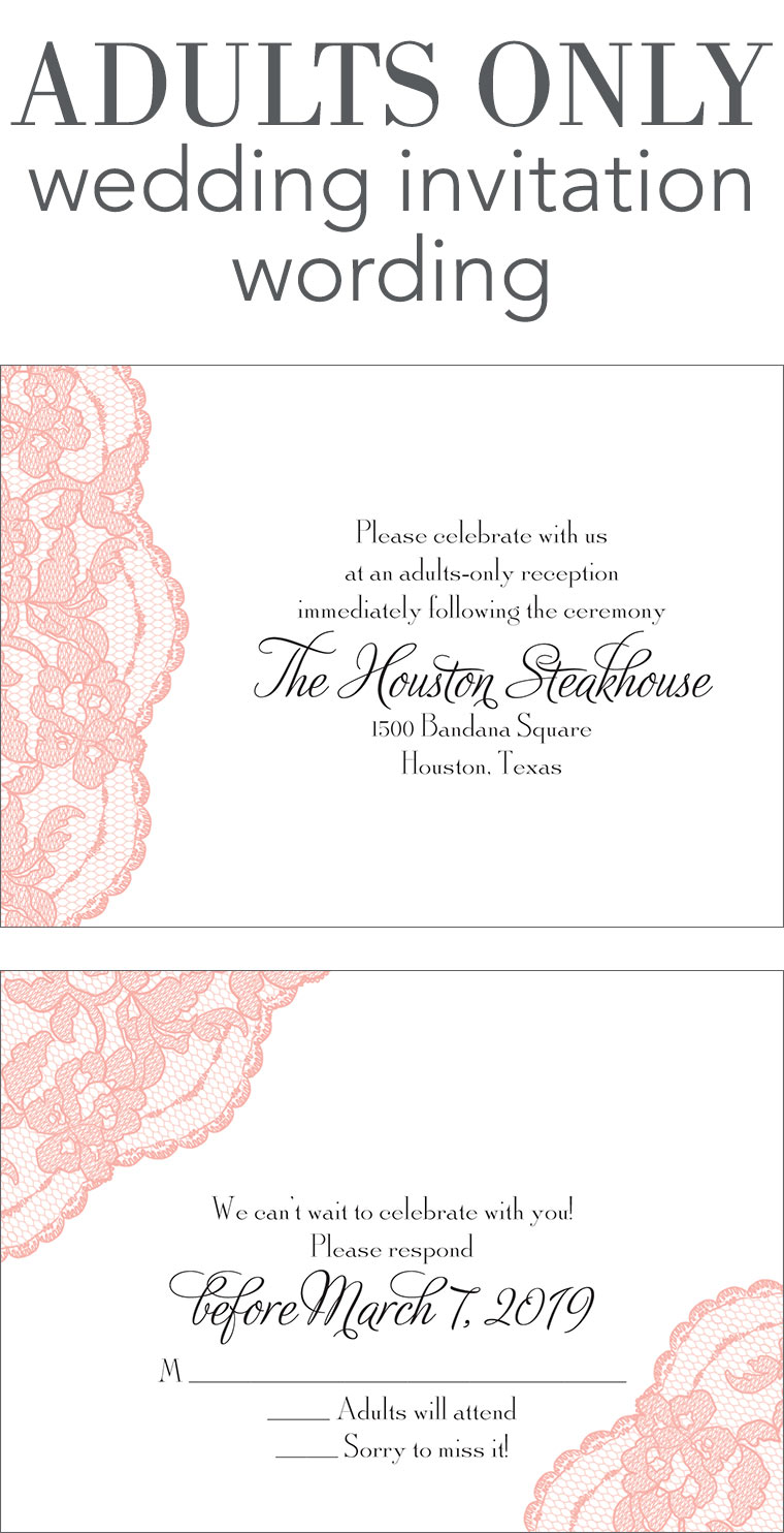 Fullsize Of Wedding Reception Invitation Wording