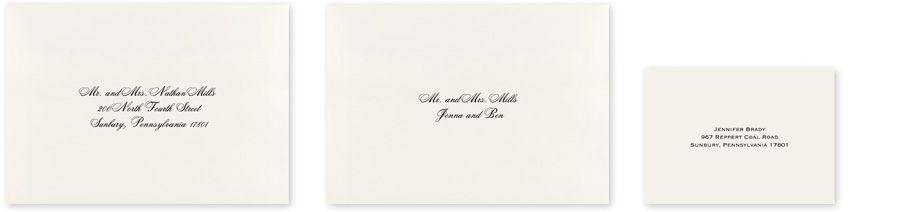Wedding Envelope Addressing Invitations By Dawn