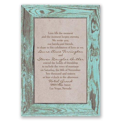 Medium Of Rustic Wedding Invitations