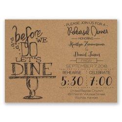 Small Crop Of Rehearsal Dinner Invitation Wording