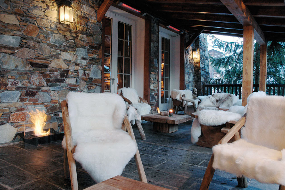 Terrasse Park Hotel Megeve Get The Look: Glamouröses Chalet – Westwing Magazin