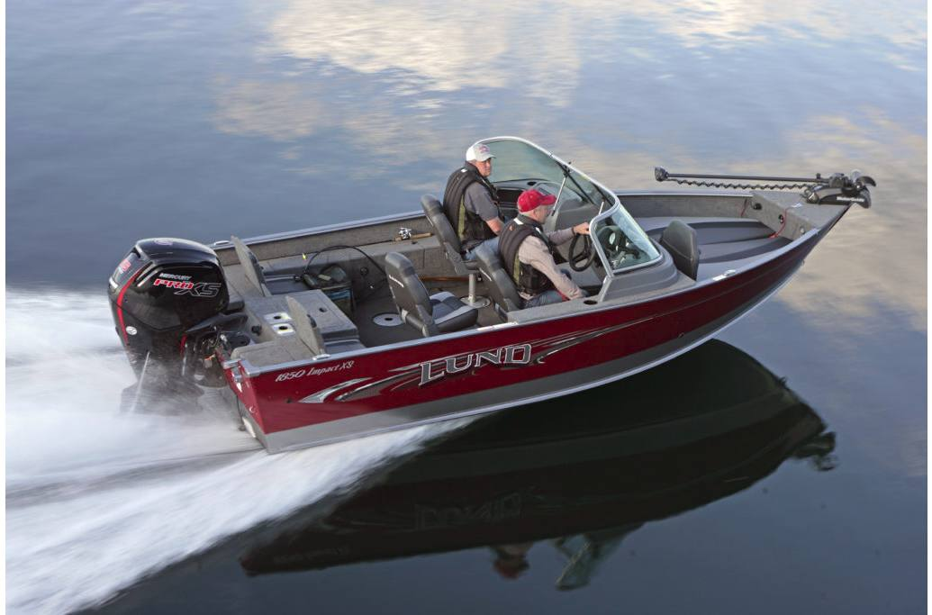 2017 Lund 2025 Impact XS for sale in Ramsey, MN Power Lodge