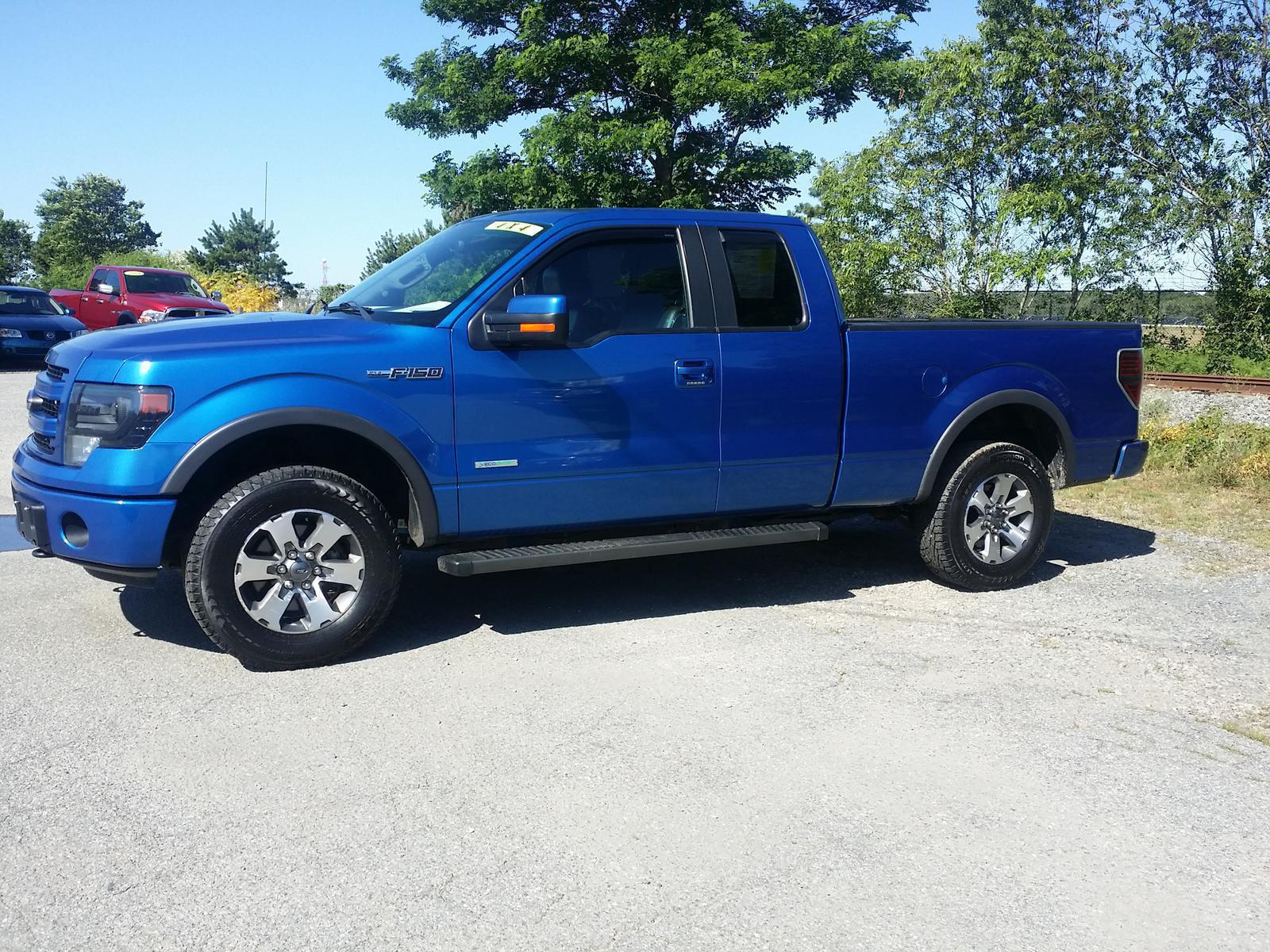 Ford F150 4x4 2013 Ford Ford F150 Supercab Fx4 4x4 Ecoboost For Sale In Hyannis