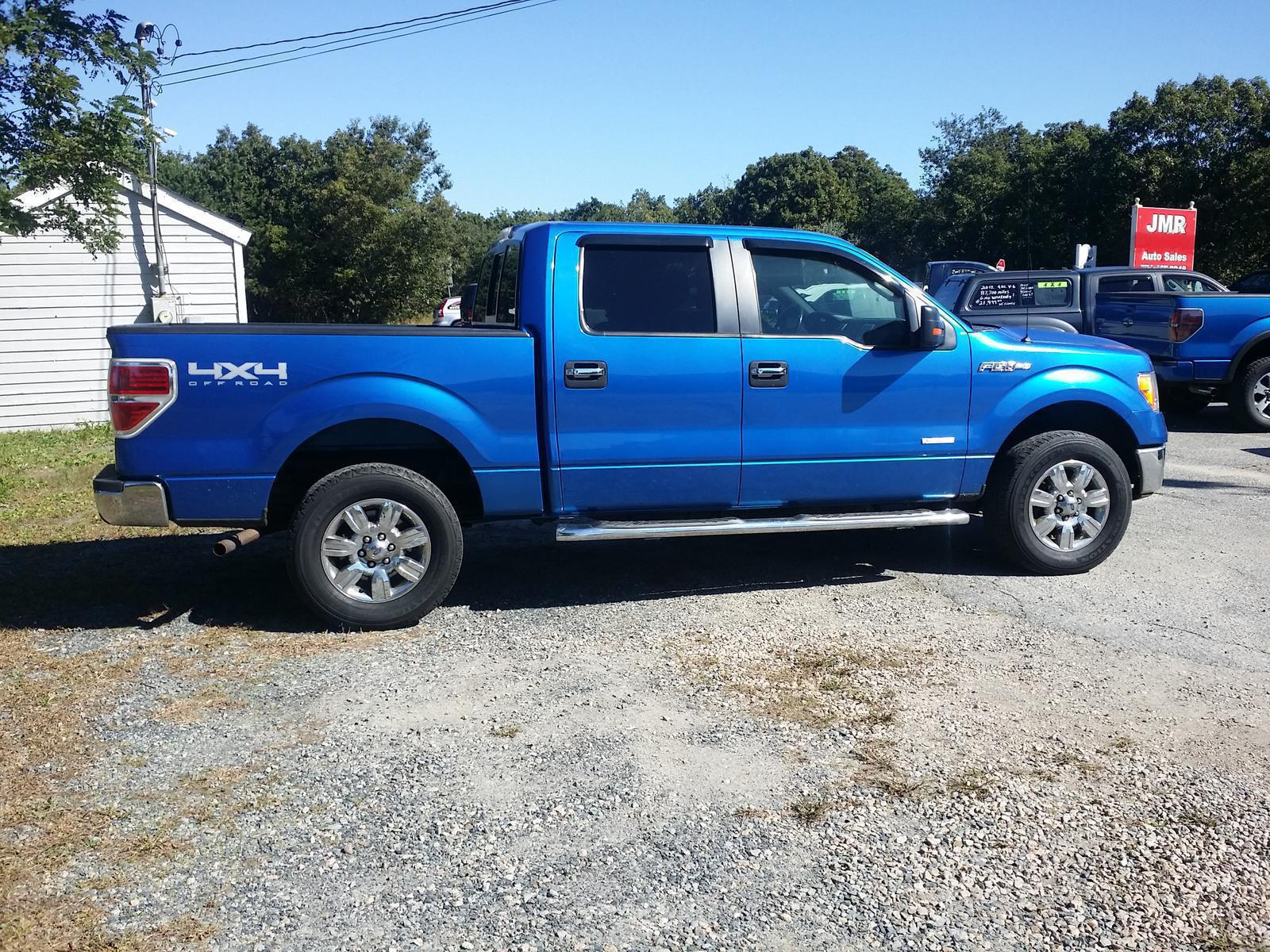 Ford F150 4x4 2011 Ford Ford F150 Supercrew Cab Xlt 4x4 Ecoboost For Sale In
