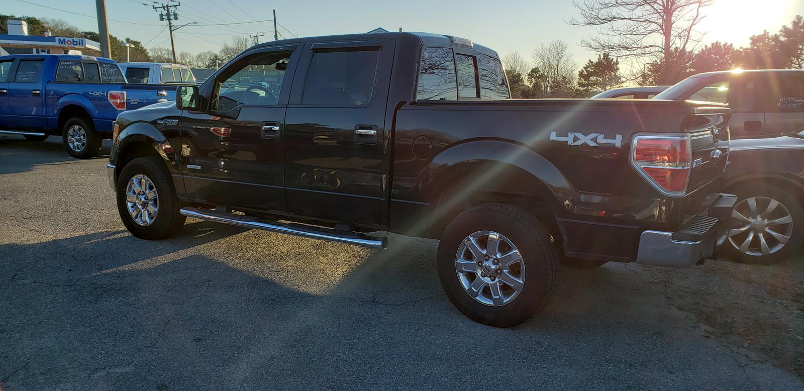 Ford F150 4x4 2013 Ford Ford F150 Supercrew Cab Xlt 5 5 Ft 4x4 For Sale In
