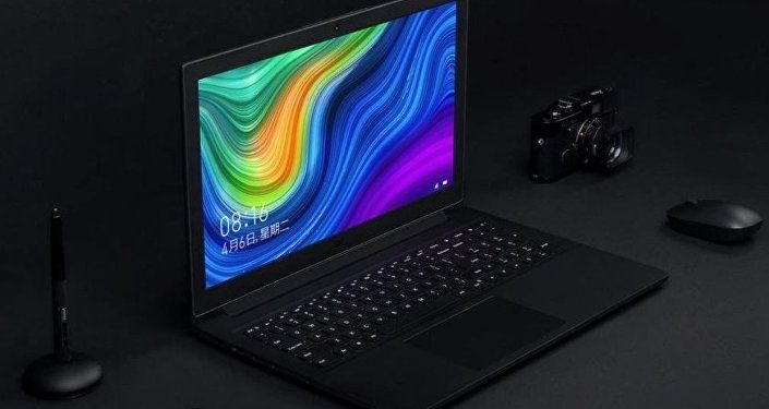 La laptop Xiaomi Mi Notebook i3