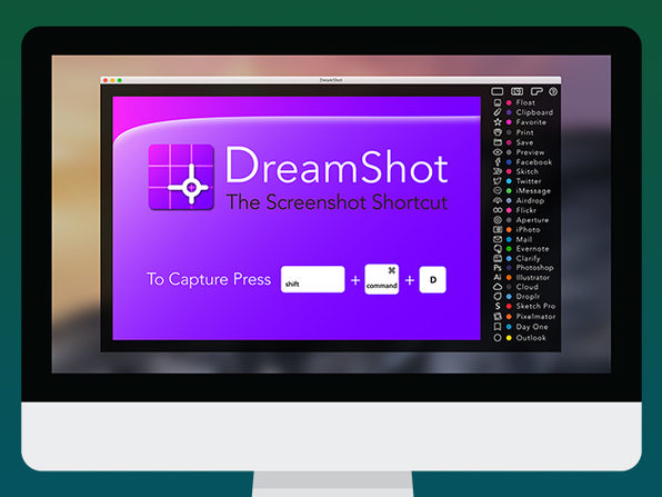 Up to 99 Off Free DreamShot Screen Capture Tool for Mac