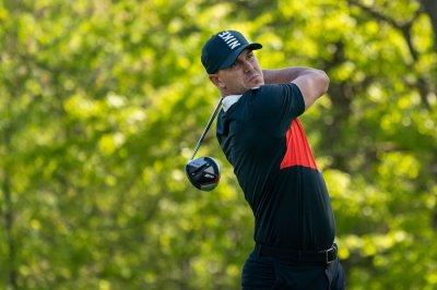 Watch: Leader Brooks Koepka bombs 331-yard drive to start second round of PGA Championship - UPI.com