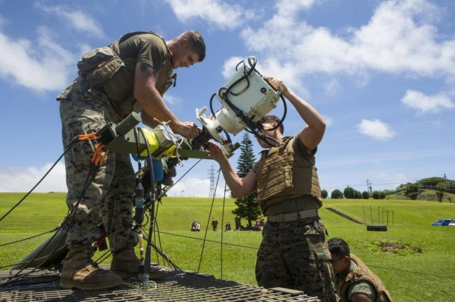Marines conduct field test of laser-based communications system
