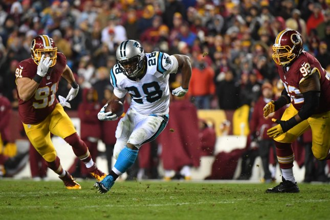 Giants RB Jonathan Stewart (foot) placed on injured reserve - UPI