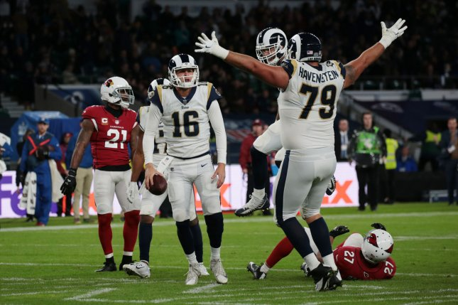 Los Angeles Rams steamroll New York Giants behind Jared Goff - UPI