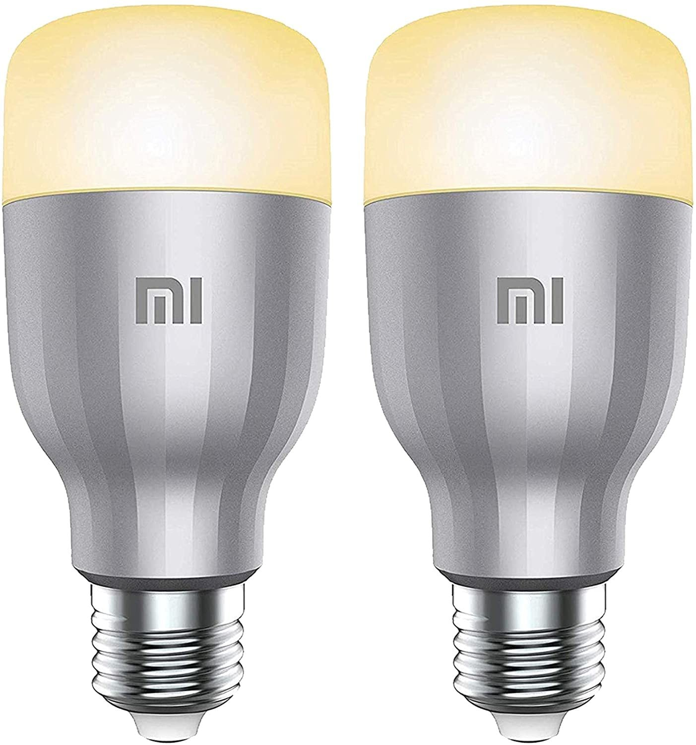 Buy Xiaomi 2pcs Package Global Version Xiaomi Mi Smart Led Bulb Colorful 800 Lumens 10w E27 Lamp Online Shop Home And Garden On Carrefour Uae