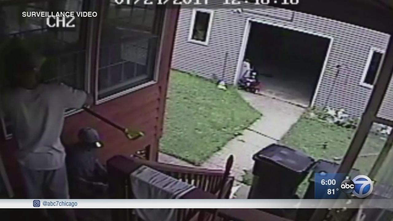 Jefferson Park Home Burglary Caught On Security Camera