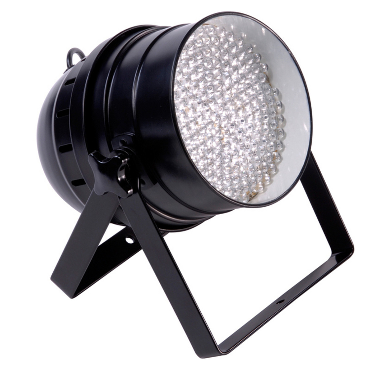 Led Floor Spotlights Ledj Par64 Led Floor Par Can Black At Gear4music