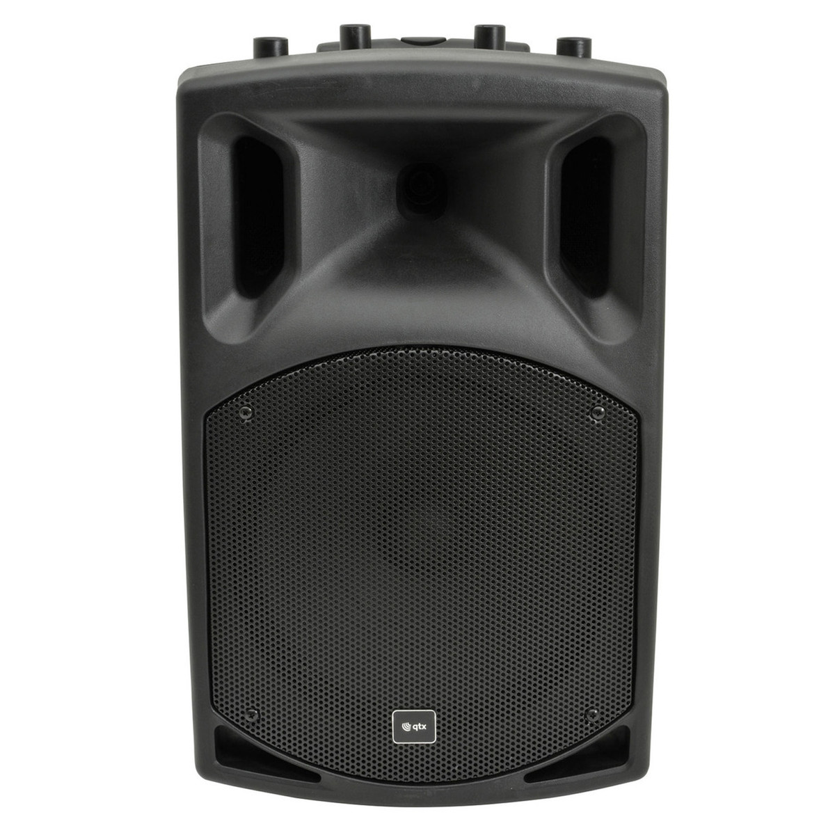 Bluetooth Box Qtx Qx15pa Portable Pa System With Bluetooth Box Opened