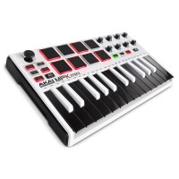 Akai MPK Mini MK2 Laptop Production Keyboard, White at ...
