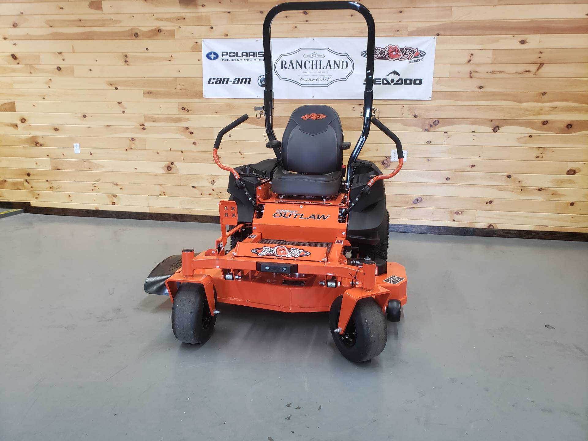 Compact Bad 2019 Bad Boy Mowers Outlaw Compact 48