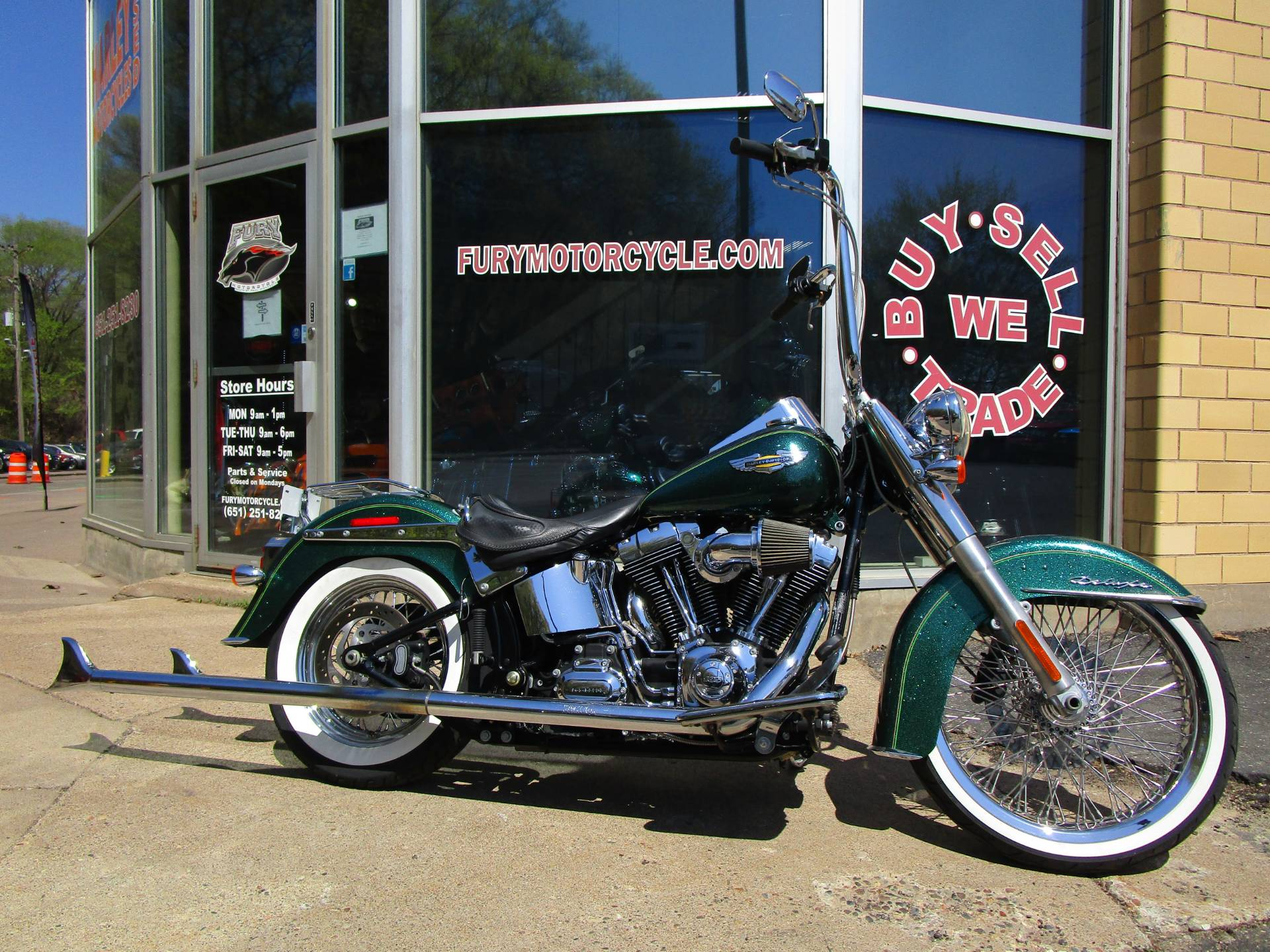 Harley Softail 2013 Harley Davidson Softail Deluxe
