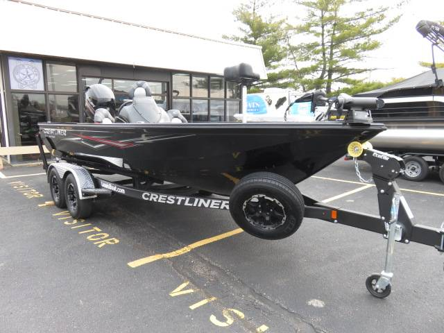 New 2018 Crestliner 1850 BASS HAWK Power Boats Outboard in Saint