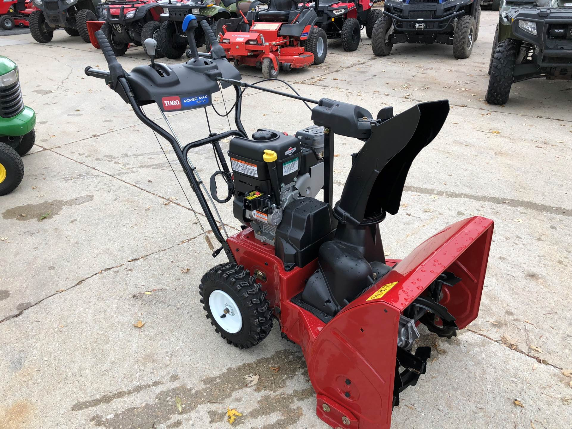 Used Snow Blowers 2015 Toro Power Max 724 Oe 37775