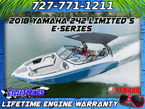 New 2018 Yamaha 242 Limited S E-Series Power Boats Inboard in