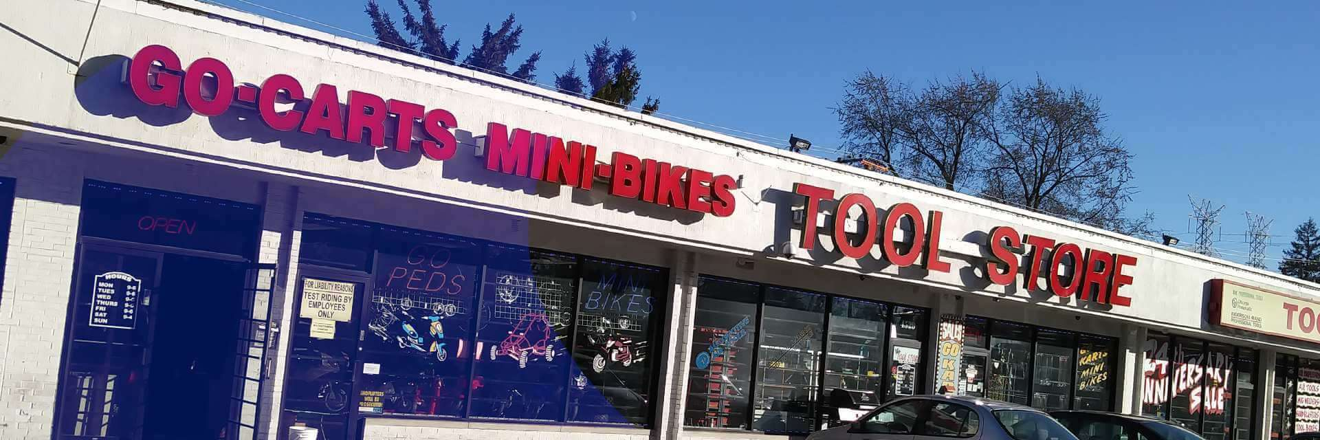 Shop Moto Salon Tool Store Go Kart Shop Located In Forest View Il Shop Our