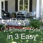 How to Whitewash Brick