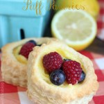 Lemon-Berry-Puff-Pastries