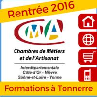Formation CMA Rentrée 2016 TONNERRE CDT