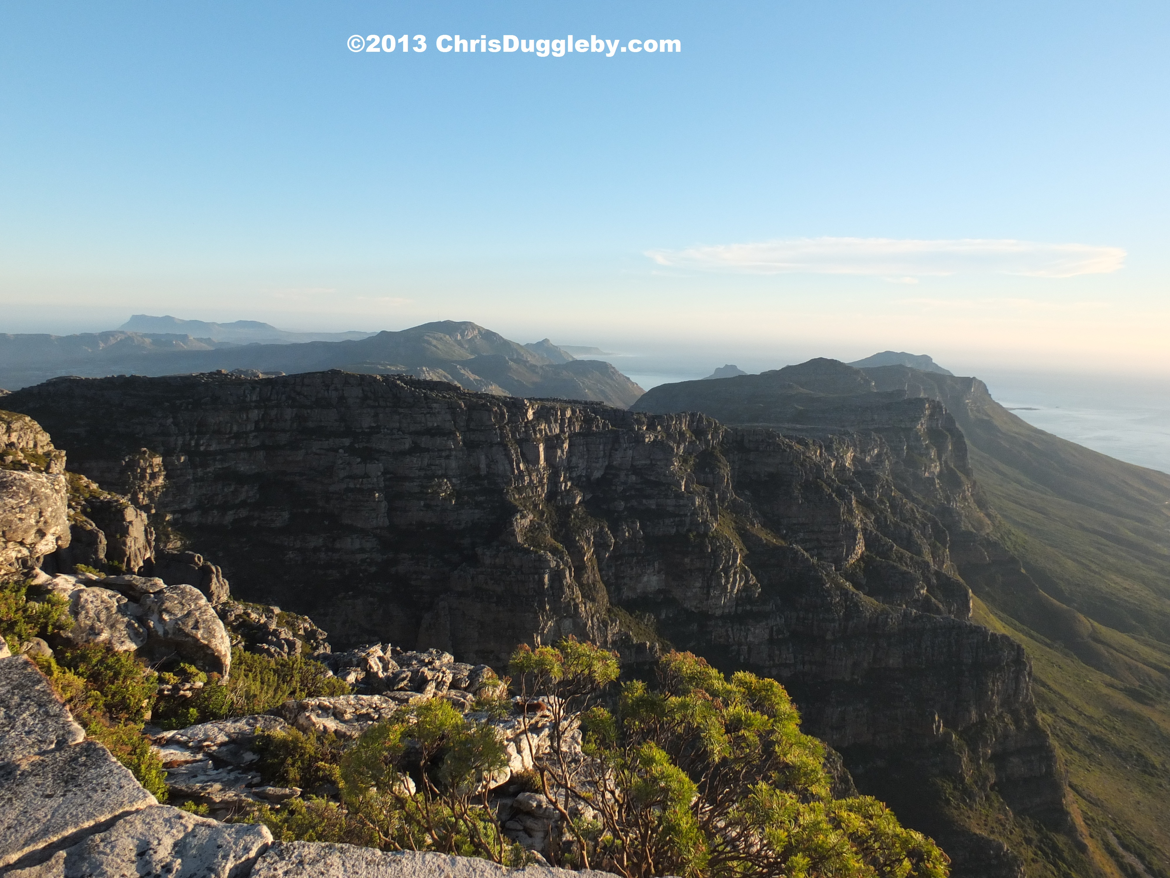 Best Pushchairs Ever Sunset From The Top Of Table Mountain Following An