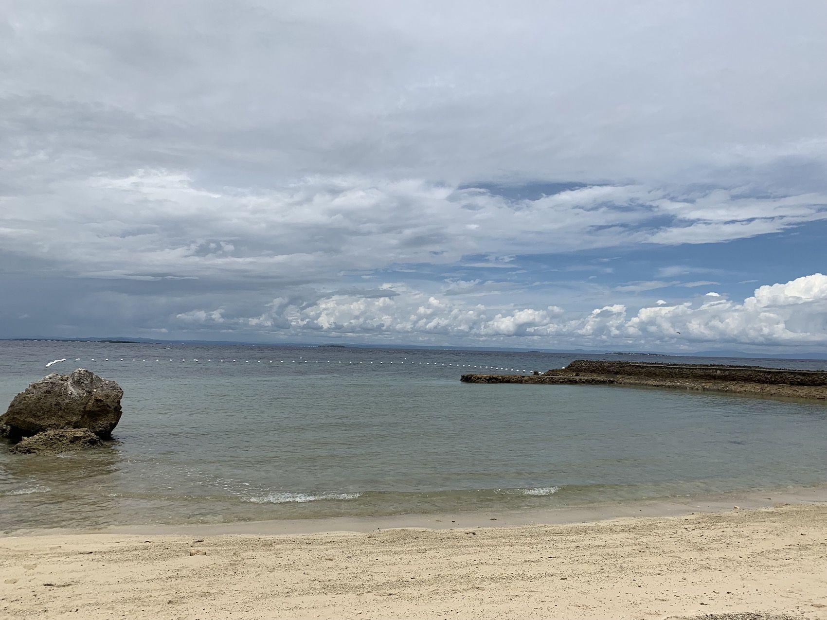 プランテーションベイのビーチ