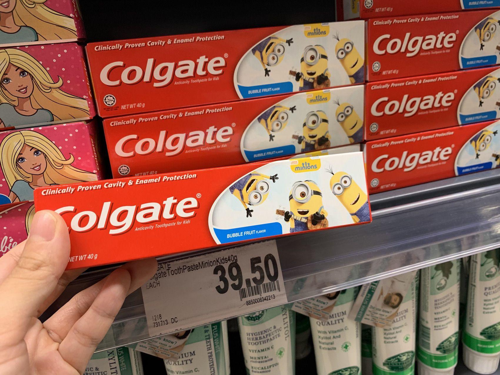 歯磨き粉のColgate(コルゲート)
