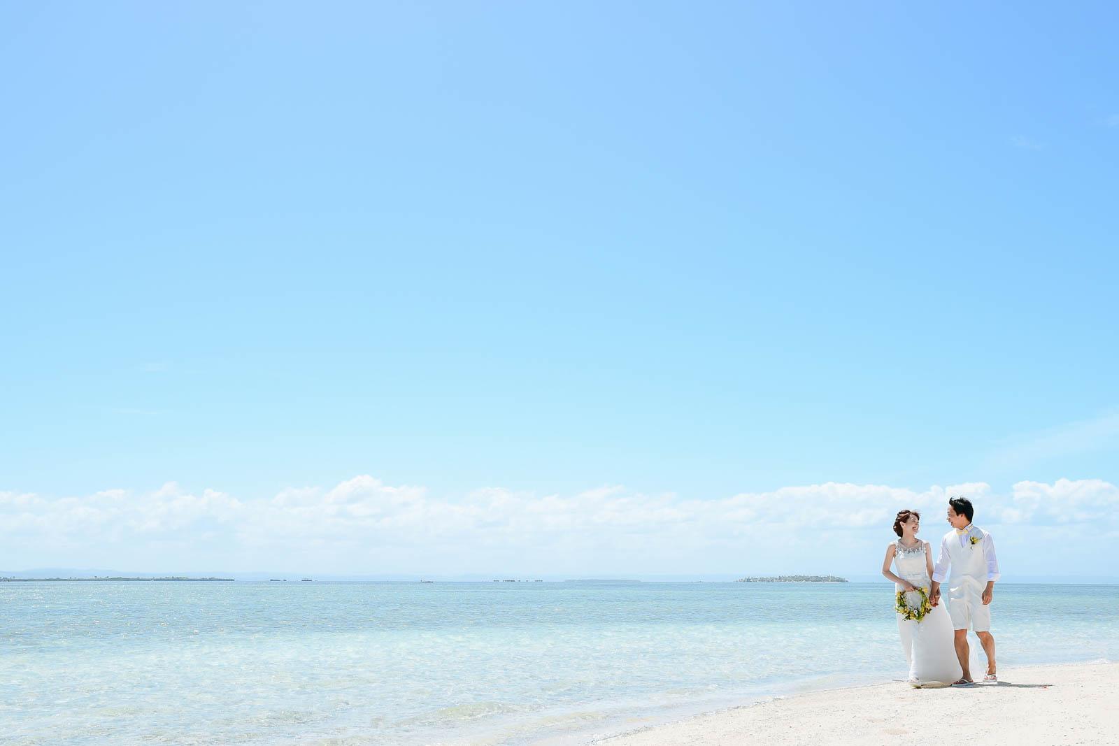 セブ島の離島で撮影