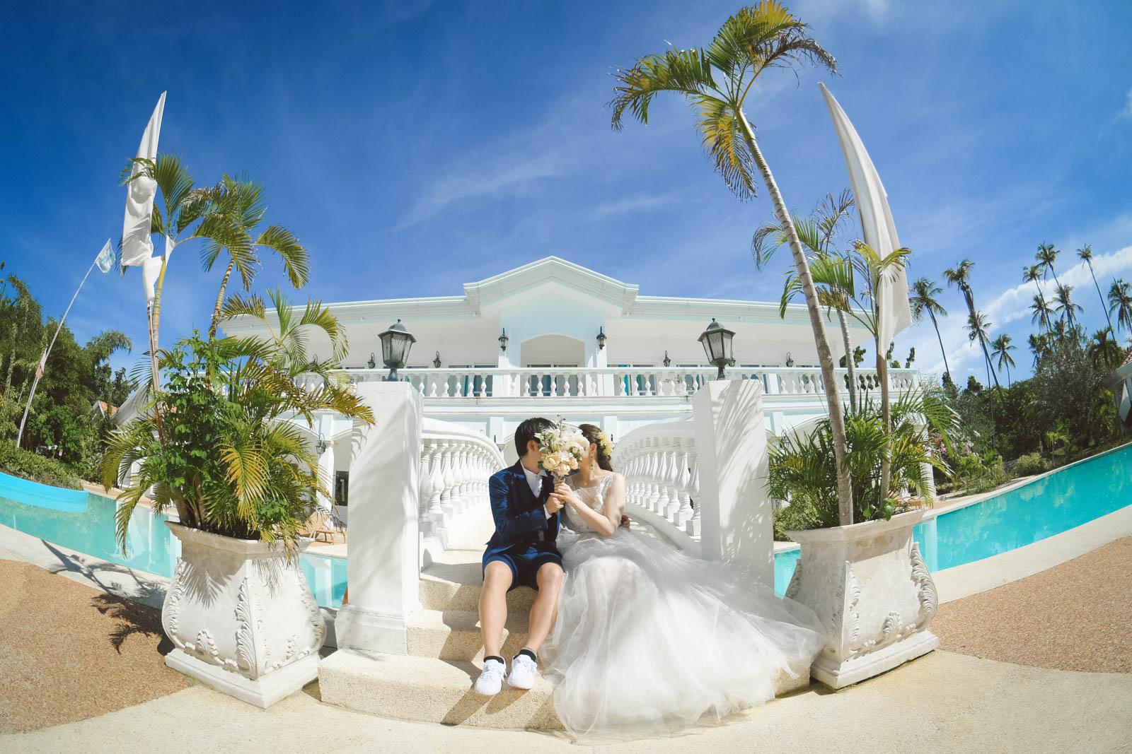 オランゴ島のホテル