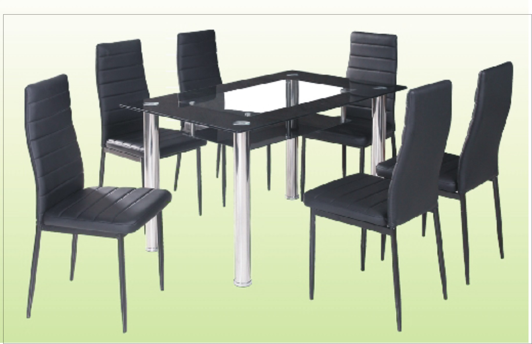 Sala Set Cebu 6 Chair Dining Table With Glass Top Cebu Appliance Center