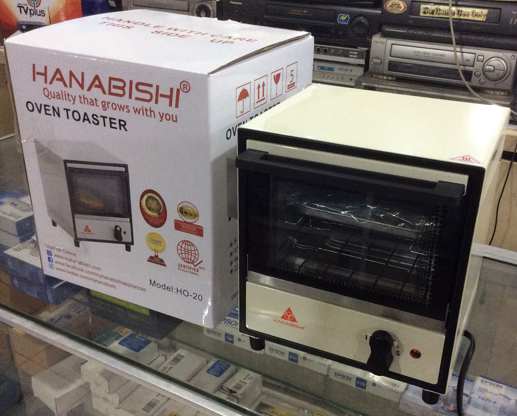 Countertop Oven Philippines Hanabishi Oven Toaster Ho 20 White Cebu Appliance Center