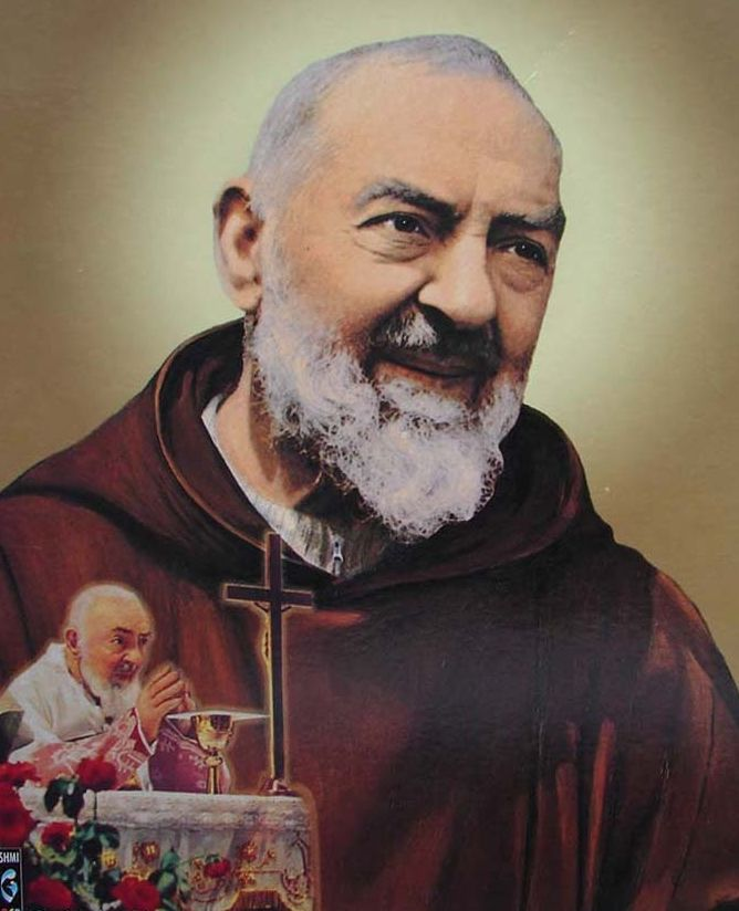 Group invites devotees to attend novena Masses for St Padre Pio